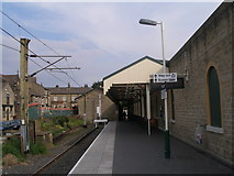 SK0394 : End of the line at Glossop station by John Slater