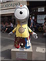 TQ3080 : Busker Wenlock by Colin Smith