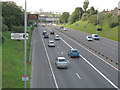 TQ4077 : Olympic lane on the A102 by Stephen Craven