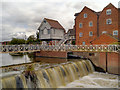 SO8832 : Abbey Mill and Weir, Tewkesbury by David Dixon