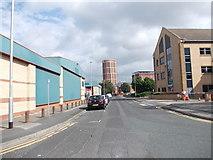 SE2932 : David Street - Manor Road by Betty Longbottom