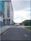 SE2932 : Siddall Street - looking towards Sweet Street by Betty Longbottom