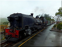 SH5752 : Welsh Highland Railway locomotive number 87 at Rhyd-Ddu by Richard Hoare