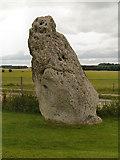 SU1242 : The Heel Stone at Stonehenge by David Dixon