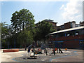 TQ3379 : Leathermarket Gardens - playground by Stephen Craven