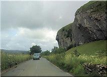 SD9768 : Kilnsey Crag from B6160 by John Firth