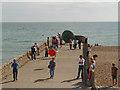 TQ3103 : Jetty, Brighton Seafront by David Dixon