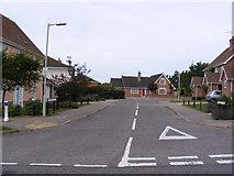 TM3877 : Harepark Close, Halesworth by Adrian Cable