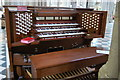SO8554 : Remote Organ console, Worcester Cathedral by Julian P Guffogg