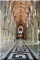SO8454 : Worcester Cathedral Nave by Julian P Guffogg
