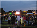 TQ3976 : Olympic games on the big screen in Blackheath by Stephen Craven