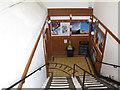 TQ8209 : West Hill Lift: steps at the top by Stephen Craven