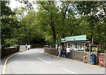 SN7477 : Entrance to Mynach Falls, Devil's Bridge by Jaggery