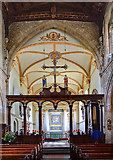 ST6834 : St Mary's church, Bruton - interior (2) by Mike Searle