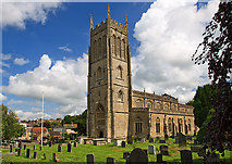 ST6834 : St Mary's church, Bruton by Mike Searle