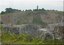 SK3455 : Cliff Quarry by Andrew Hill