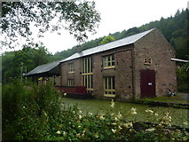 SK3155 : Warehouse by the Cromford canal by Andrew Hill