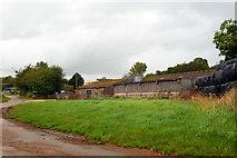 SU8415 : Barns, Staple Ash Farm by Robin Webster