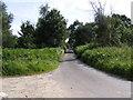 TM4176 : Bartholomew's Lane by Adrian Cable