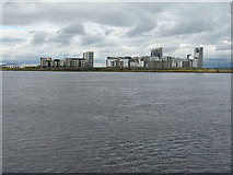 NT2677 : Western Harbour of the Port of Leith by M J Richardson