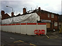 SK5236 : Demolition on Chilwell High Road by Andrew Abbott