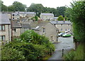 SK1575 : Village scene, Tideswell by Andrew Hill