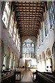 SO7745 : The nave, Great Malvern Priory by Julian P Guffogg