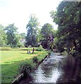 TQ2668 : River Wandle - Morden Hall Park by Paul Gillett