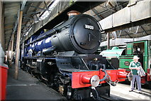 SU5290 : Didcot Railway Centre - the blue 'King' by Chris Allen