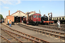 SU5290 : Didcot Railway Centre - Railmotor by Chris Allen