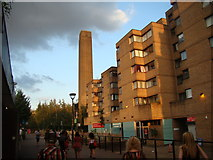 TQ3180 : View of the Tate Modern from the South Bank #2 by Robert Lamb