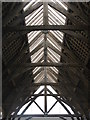 SE2403 : Penistone Market Hall roof by Dave Pickersgill