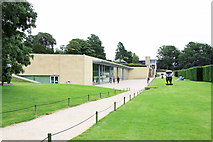 SE2813 : Yorkshire Sculpture Park - Visitors' Centre by Peter Church