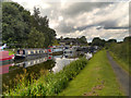 SD6225 : Leeds and Liverpool Canal, Riley Green Marina by David Dixon