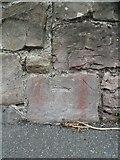 SH4862 : Benchmark on Ffordd Santes Helen, Caernarfon by Meirion