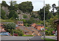 SK2853 : Modern housing in Wirksworth by Andrew Hill