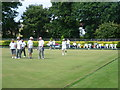 TQ2670 : Bowls at Haydons Road Recreation Ground by Marathon