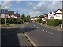 TQ0464 : School Lane, Addlestone by Alan Hunt