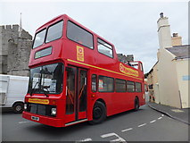 SC2667 : Open top bus tour Castletown by Richard Hoare