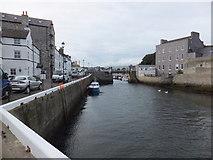 SC2667 : Approach to Castletown Harbour swingbridge by Richard Hoare