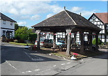 SO3958 : Grade II* listed Market Hall, Pembridge by Jaggery