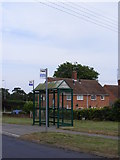 TM3876 : Bus Shelter on Durban Close by Adrian Cable