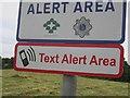 N1150 : Text alert area by Richard Webb
