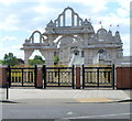 TQ2084 : Neasden Temple, London NW10 by Jaggery