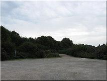 TQ4109 : Cockshut Road Car Park by Simon Carey