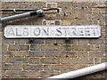 TM3863 : Albion Street sign by Adrian Cable