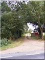TM4072 : The entrance to Grove Farm by Adrian Cable