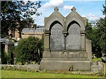 NS6065 : Memorial to James Jeffray by Lairich Rig