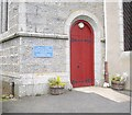 NJ5310 : Entrance to Cushnie and Tough Parish Church (2012) by Stanley Howe