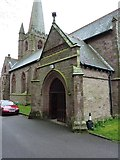SD1779 : St George's Church, Millom, Porch by Alexander P Kapp